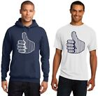 New York Yankees Pinstriped Thumbs UP 'Down' Men's T-Shirt or Hoodie Sz S - 5XL on Ebay