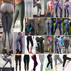 Womens High Waist Yoga Gym Fitness Leggings Running Sports Workout Pants Bottoms