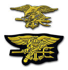 US Navy Seal Team Trident Eagle Patch Iron On Backing