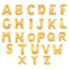 "40"" LARGE FOIL LETTER BALLOONS NUMBER BALLOON FLOAT HELIUM ALPHABET SILVER GOLD"