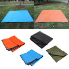 2.1 x 1.5m Hiking Camping Tent Footprint Tarp with Anchor Holes for 4 Person