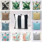 18x18 inch Tropical Indoor/Outdoor Pillow Cover, Nautical Pillow Case Geometric