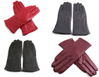 Womens Ladies Premium High Quality Real Soft Leather Gloves Fully Lined Warm