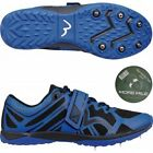 More Mile Mens Womens Mud Warrior 1 Cross Country Running Spikes With Tape Blue