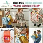 Elbini Triply Baby Backpack   Cotton Backpack  Stylish Kids Toddler