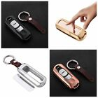 Key Fob Cover For Mazda Car Remote Key Aircraft Aluminum Mirror Back Keychain