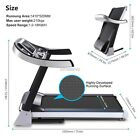 ANCHEER Foldable 18km/h LED MP3 Electric Treadmill Machine MP3 USB Handrall