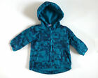 Baby Boy's Light Weight Coat with Hood- Green / Black- Ages 3-6 mos & 6-9mos-NEW