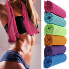 Ice Cold Running Gym Jogging Chilly Pad Instant Cooling Towel Outdoor Sports New image