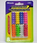 Extreme Comfort Assorted Color Shape Pencil Pen Grip 8 Per Pack - US SHIPPING