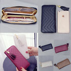 Fashion Women Leather Card Holder Long Wallet Clutch Tassel Handbag Purse Tote