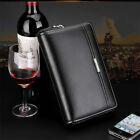 Mature Men Real Leather Briefcase Wallet Fashion Purse Business Clutch Handbag