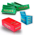 New RIZZLA+  SMALL GREEN Cigarette Rolling Papers Original Regular 1-50 Booklets