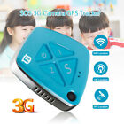 RF-V42 Mini 3G Camera Real Time GPS Tracker SOS Communicator Two Way Audio Blue