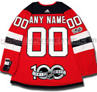 NEW JERSEY DEVILS ANY NAME  NUMBER ADIDAS ADIZERO HOME JERSEY AUTHENTIC 100TH