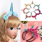 Kids Flower Animal Horn Hair Band Headband Xams Halloween Gift Decor ESY1 01