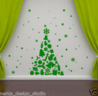 CHRISTMAS TREE WALL STICKER XMAS WINDOW STICKER / XMAS WINDOW DECORATION  SS71