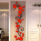 3D Cream Removable Vinyl Quote DIY Wall Sticker Decal Mural Home&Room Decor US