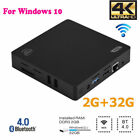 MINI PC Z83V Intel Z8350 2GB+32GB Quad Core WiFi Bluetooth VGA For Windows 10 BT