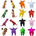 Horror Dinosaur / Fat Chub Inflatable Suit Jurassic Party Costume Funny Dress X1