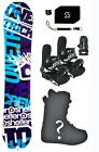 152cm Shelter Crew bl Snowboard+Bindings+Boots+Stomp+Leash+Package burton ntwo49
