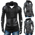 Winter Men's Hoodie Warm Hooded Sweatshirt Cotton Jacket Outwear Sweater HOTSALE