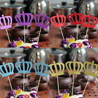 New Crown Cake Topper Birthday Party Toppers Christmas Decor Supplies 3 Pcs/Set