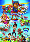 Paw Patrol Posters Kids Boys Girls Wall Art Poster A4 / A3 size 200gsm