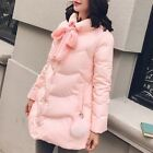 2017 Women's Coat Down Warm Winter Thick Clock Stand Collar Korean Sweet School