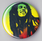 BOB MARLEY - RASTA Badges & Magnets - Reggae Wailers Rastafarian New Rare BUTTON