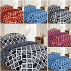 Printed Theo Duvet Quilt Cover Set Sizes Single Double King Superking Pillowacas