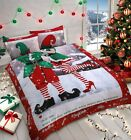Selfie Elfie Christmas Xmas Insta His Hers Bedding Set / Quilt Cover Duvet Set
