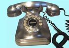 Telephones RETRO Pottery Barn Grand Phones Black and Silver CHOICE