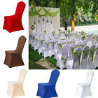Universal Spandex Chair Cover Sashes Wedding Party Banquet Bow Decoration New US