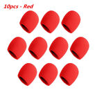 10 PCS Set Handheld Microphone Foam Ball-Type Mic Windscreen Stage Sponge Cover