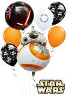 Star Wars 7 BB8 Birthday Balloon Bouquet Kids Party Decorations $12.95 AUD