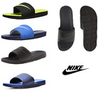 NEW Nike Men Sandals Benassi Solarsoft Comfort Slip On Slides