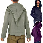 pixie hood jacket - Mens Cyber Elf Hoodie, Mans Pixie Hood Jacket, Mens Elven Psy Trance Clothing