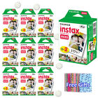 For Fujifilm Instax Mini 8 9 Camera Film Sheets Fuji Instant White Frame Photos