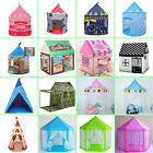 Princess Castle Play House Tunnel Large Kids Play Tent & Ocean Ball For Baby Toy