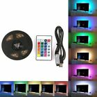 5050 RGB Color Change USB LED Strip TV Computer USB Backlight Light Kit US Stock