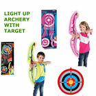 Archery arrow darts Light Up Game Set Toy Party Games Family Kids Adults Home UK