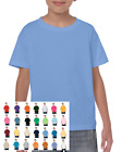 Gildan Youth Kid's Child Adult Cotton T-shirt Plain Blank G5000 New Wholesale