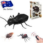 Remote Control Mock Fake Cockroach RC Toy Prank Insects Joke Scary Trick Bugs AU