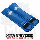 Rogue Leather Competition Pro Series MMA Shin Pads - Blue - [MMA UFC MUAY THAI]