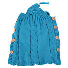 New Swaddle Wrap Baby Blanket Newborn Infant Knit Crochet Cotton Sleeping Bag US