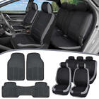 2000 jeep wrangler seat covers - Sleek Car SUV Seat Covers for Auto & Heavy Duty Rubber Floor Mats Full Set