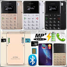 Bluetooth Ultra Slim Q5 Mini Pocket Touch Button Mobile Smart Phone SD Card GSM
