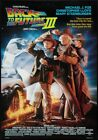 BACK TO THE FUTURE TRILOGY A4 A3 Vintage Movie Posters Set of 3 Art Print 4 Fans