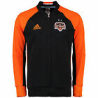 adidas Houston Dynamo MLS 2016 - 2017 Line Up Soccer Jacket Black / Orange